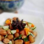 凉拌红绿花生米(下酒菜菜谱)