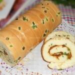 香葱蛋糕卷(早餐菜谱)