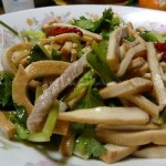 香干肉丝(荤素搭配菜谱)