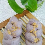 紫薯肉松麻花卷(早餐菜谱)