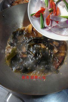 海带素牛肉
