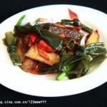 海带素牛肉(素菜菜谱)