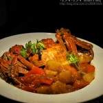 金黄咖喱蟹(海鲜菜谱)