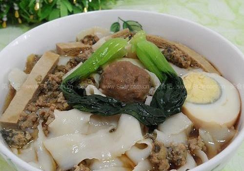 山西刀削面(早餐菜谱)