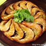 原味盐灼虾(三分钟健康宴客菜菜谱)