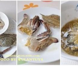 虾蟹海鲜粥