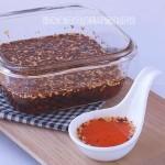 辣椒油的秘制方法(调料菜谱)