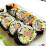 鱼肉寿司卷(早餐菜谱)