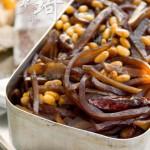 咸菜炒黄豆(5分钟素菜菜谱)
