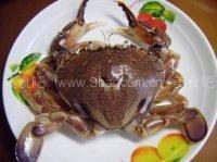 微波炉南瓜蒸蟹