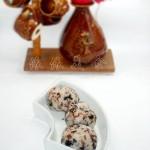红米肉松海苔饭团(早餐菜谱)