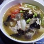 连汤肉片(千年名宴洛阳水席中的名菜菜谱)