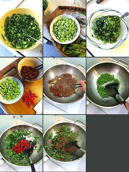 腌菜海参米炒肉丝(荤素搭配毛豆)有菜谱的人可以吃癫痫吗图片