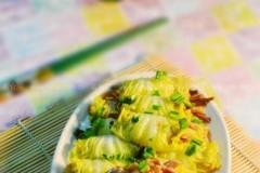 白菜卷黄花菜