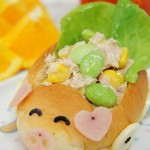 小猪敞蓬跑车面包三明治(早餐菜谱)