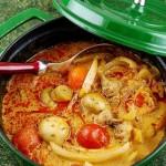 红咖喱鸡肉杂蔬(荤素搭配菜谱)