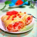 番茄饭卷(早餐菜谱)