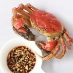 清蒸大闸蟹(海鲜菜谱)