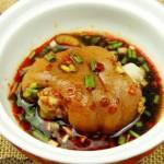 蹄花儿汤和沾水蹄花(30分钟菜谱)