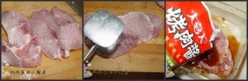 地瓜饼卷肉