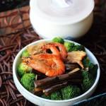 基围虾烧茄子(便当菜谱)
