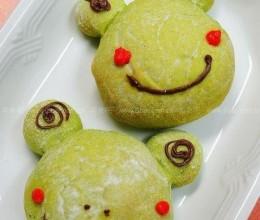 小青蛙菠菜面包