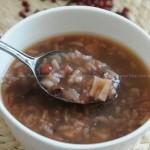 红豆糖藕粥(早餐菜谱)