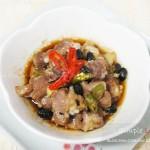 豉椒蒸排骨(广东早茶菜谱)