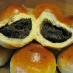 黑芝麻核桃小餐包(早餐菜谱)