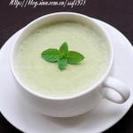 青豆奶油浓汤(西式浓汤菜谱)
