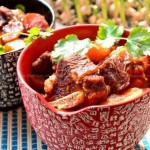牛肋排烧土豆(荤素搭配菜谱)