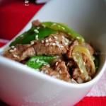 京葱爆炒牛柳(超级适合带饭的便当菜菜谱)