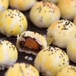 蛋黄酥(中式点心菜谱)