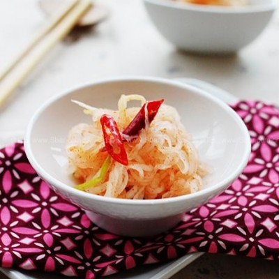 自制萝卜丝泡菜