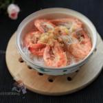 蒜蓉粉丝虾(清蒸菜谱)