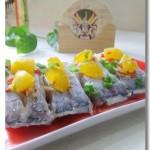微波爐蛋黃焗帶魚(微波爐家宴菜譜)