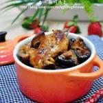 双菇焖鸡(家宴菜谱)