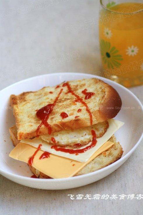 奶酪橙皮土司