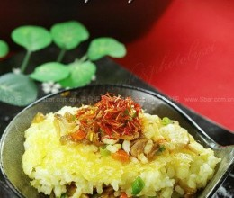 藏红花虾干饭