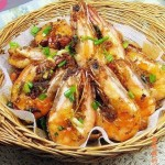 避風塘蝦(海鮮菜譜)