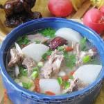 羊排萝卜汤(荤菜菜谱)