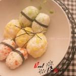 三色饭团(早餐菜谱)
