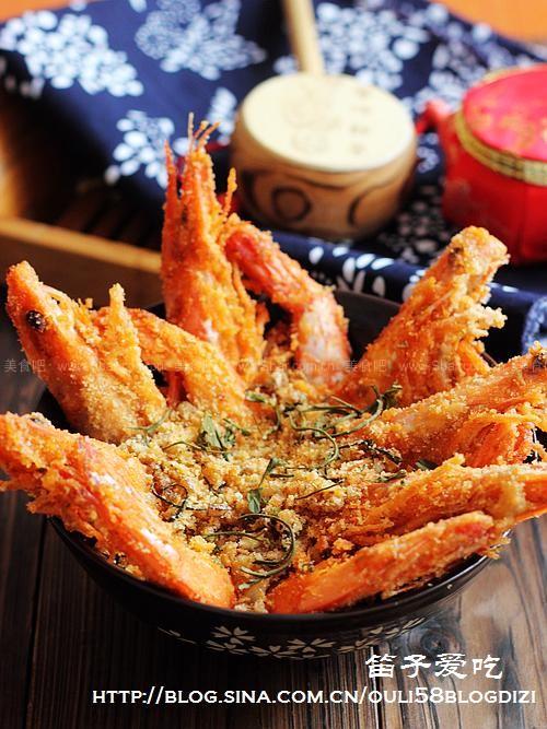 避風塘茶味蝦