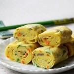 鸡蛋卷(早餐菜谱)
