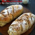 黑麦橄榄油核果包(早餐菜谱)