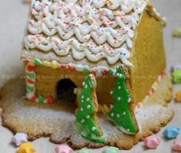 自制圣诞姜饼屋