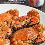 清蒸大闸蟹和螃蟹粉丝煲(海鲜菜谱)