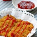 炸猪排(荤菜菜谱)