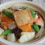 八珍豆腐煲(让孩子长高长壮菜谱)