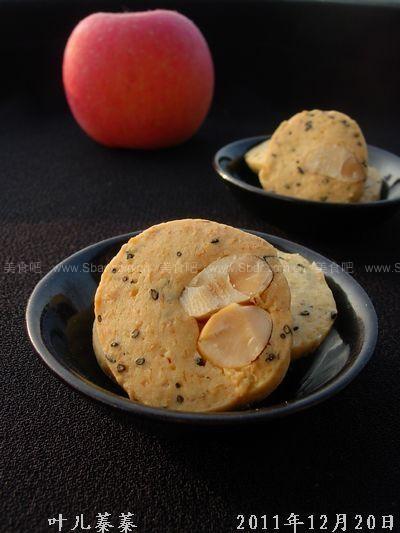 自制食谱果酥饼(鲍鱼菜谱)的支架人放零食心脏图片